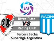 River Plate vs. Racing EN VIVO vía FOX Sports: sigue en DIRECTO la Superliga Argentina