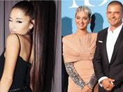 Ariana Grande y el notable gesto que tuvo con Katy Perry y Orlando Bloom