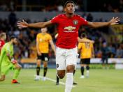 Manchester United vs. Wolverhampton: Martial anotó el 1-0 con magistral definición | VIDEO