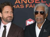 Gerard Butler quiere que Morgan Freeman sea presidente de los Estados Unidos
