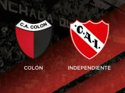 EN VIVO: Independiente vs. Colón vía FOX Sports 2: equipo de Beccacece gana 1-0 por la Superliga Argentina