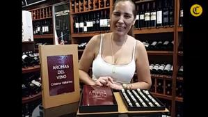 Cristina Vallarino comparte los aromas del vino [VIDEO]