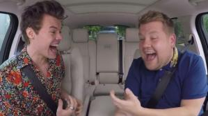 James Corden Harry Styles