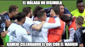 Facebook: Real Madrid vs Málaga memes