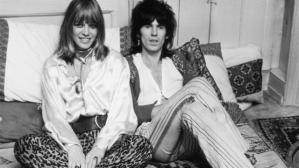 Anita Pallenberg y Keith Richards.