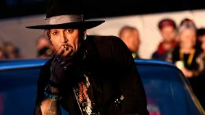 Johnny Depp en Glastonbury