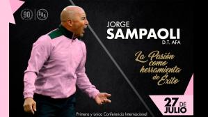Jorge Sampaoli regresa al país