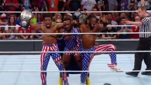 The New Day logró Título en Parejas en Battleground con gran actuación de Woods