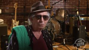 Keith Richards en YouTube