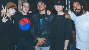 Rap Monster, Major Leazer y Jungkook en Corea del Sur