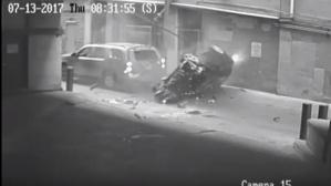 Es el segundo accidente que ocurre en este estacionamiento de Austin, Texas. (Foto: captura de YouTube)