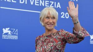"Helen Mirren brilla y emociona en Venecia con ""The Leisure Seeker"" [FOTOS]"