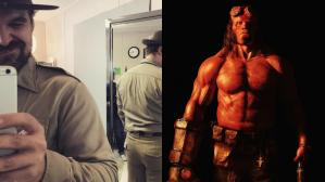 Así se transformó el sheriff de Stranger Things en Hellboy