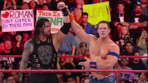 WWE: John Cena vs. Roman Reigns en No Mercy