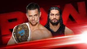 WWE Raw EN VIVO y ONLINE Roman Reigns vs. The Miz por Título Intercontinental