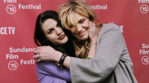 Frances Bean Cobain y su madre Courtney Love