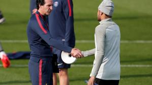 Neymar, Emery y un nuevo altercado en el Paris Saint Germain