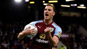 Chris Wood en Burnley