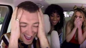 Así reaccionó Sam Smith ante la sorpresa de Fifth Harmony