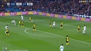 Real Madrid vs. Dortmund: espectacular golazo de Cristiano