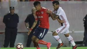 Independiente ganó 2-1 a Flamengo en final ida de Sudamericana