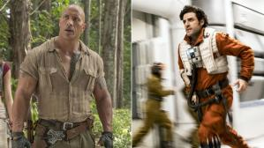"""Jumanji"" vs ""Star Wars: The Last Jedi"""