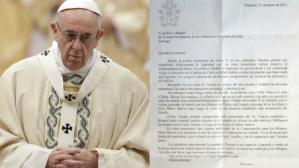 Carta al Papa Francisco sobre Chile - AP