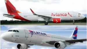 Avianca y Latam Airlines