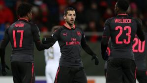 Arsenal goleó 3-0 en los dieciseisavos de final de la Europa League