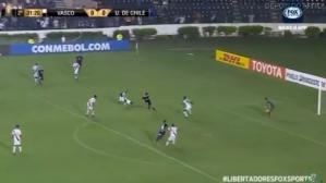 Universidad de Chile vs. Vasco da Gama: mira el golazo de Araos para el 1-0 | VIDEO