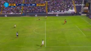 Alianza Lima vs. Universitario: error de Zubczuk y golazo de Hohberg  para el 1-0 | VIDEO