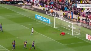 YouTube: Ter Stegen y su garrafal error en el gol de Parejo para el Valencia. (Foto: Captura de video)