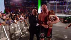 WWE Greatest Royal Rumble: Brock Lesnar ganó a Roman Reigns en polémico final. (Video: WWE)