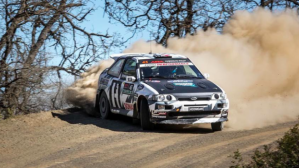 Ken Block demostró que su Ford Escort RS Cosworth es un vehículo idóneo para el rally. (Foto: YouTube).