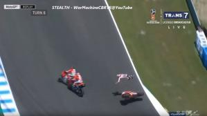 MotoGP accidente