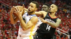 Golden State Warriors se impuso en el primer juego ante Houston Rockets por la final de la Conferencia del Oeste