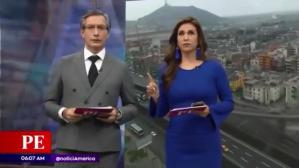 Temblor de 5.5 grados sorprendió en vivo a conductores de TV [VIDEO]