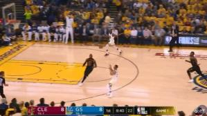 Finales NBA 2018 | Warriors vs. Cavaliers: el fenomenal pase de Curry a Durant | VIDEO