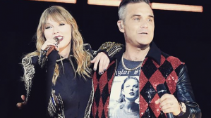 Taylor Swift y Robbie Williams