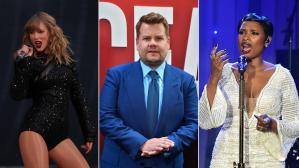 Taylor Swift, James Corden y Jennifer Hudson