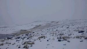 Nevadas intensas en sierra central y sur continuarán hasta el próximo lunes