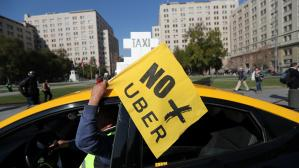 uber chile app taxi