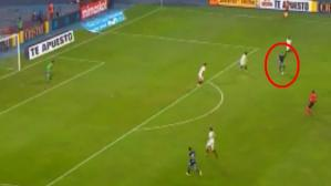 Sporting Cristal vs. Universitario: Emanuel Herrera casi marca un golazo. (Video: Gol Perú/Foto: Captura de video)