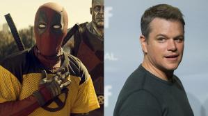 matt damon deadpool