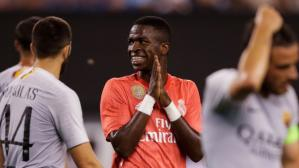 Vinicius Junior se unió a Real Madrid esta temporada (Foto: AFP).