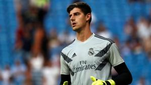 Real Madrid vs. Leganés: Courtois no pudo evitar gol de penal. (Foto: AFP)