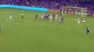La asistencia de Yoshimar Yotún para el gol de Orlando City (Captura y video: YouTube).La asistencia de Yoshimar Yotún para el gol de Orlando City (Captura y video: YouTube).
