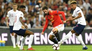 España remontó 2-1 ante Inglaterra en Wembley por la UEFA Nations League en medio de la polémica. (Video: YouTube/Foto: AFP)