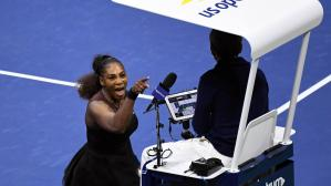 Serena Williams fue multada por su polémico accionar en la final del US Open