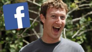 Mark Zuckerberg feliz - Facebook - referencial